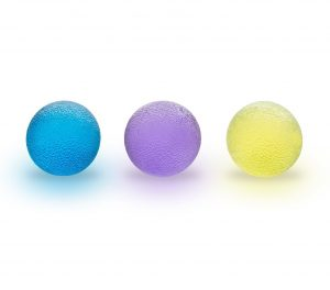 Grip Balls ( Set of 3 ) With Carrying Bag