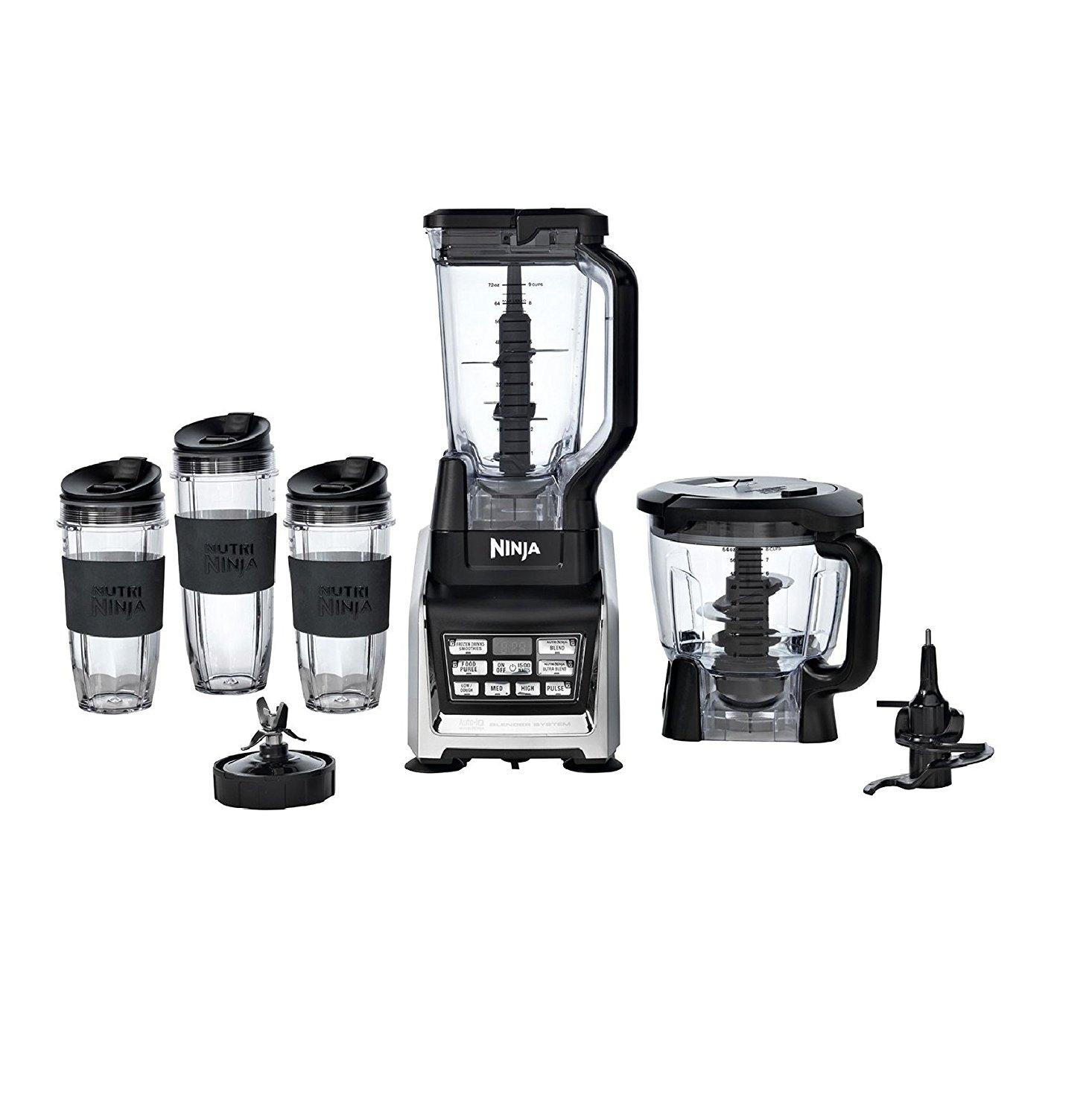 Nutri ninja blender system with auto iq technology - Top Rated Ninja Blender